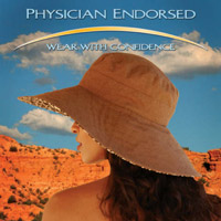 physician endorsed hats, sunglasses for sun protection